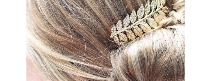 Un peigne cheveux mariage pour une coiffure impeccable